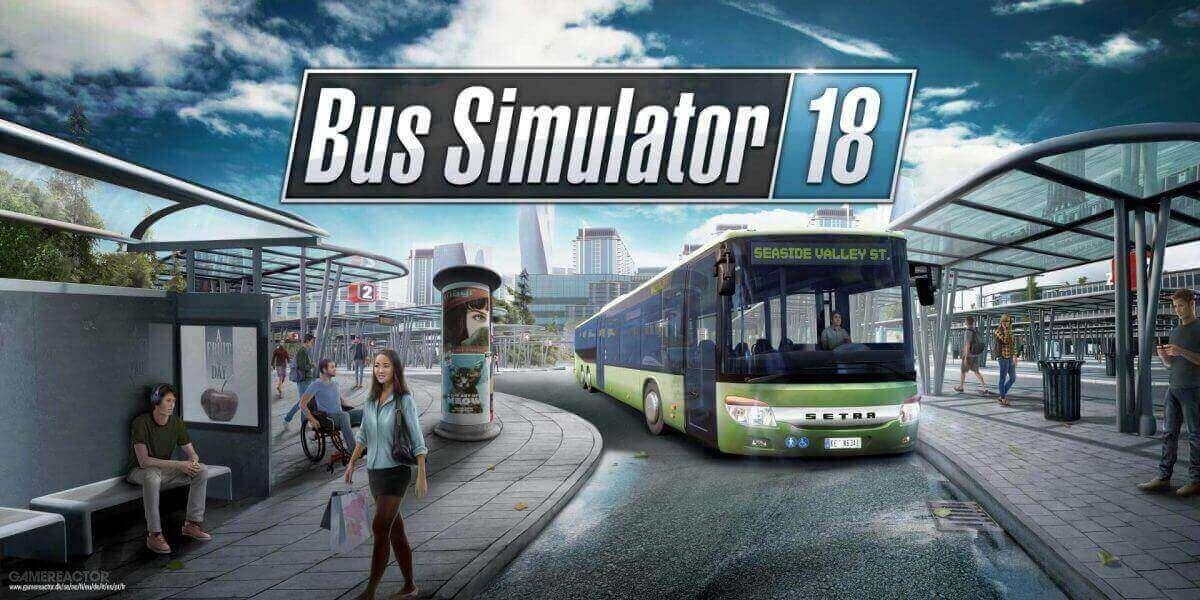 Bus Simulator 18 download cover