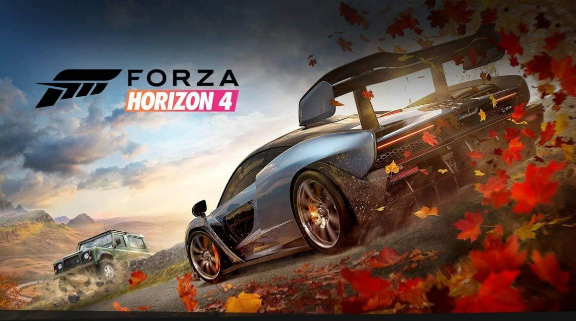 Forza Horizon 4 game download cover