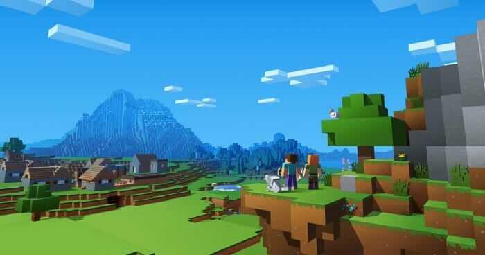 Minecraft download wallpaper