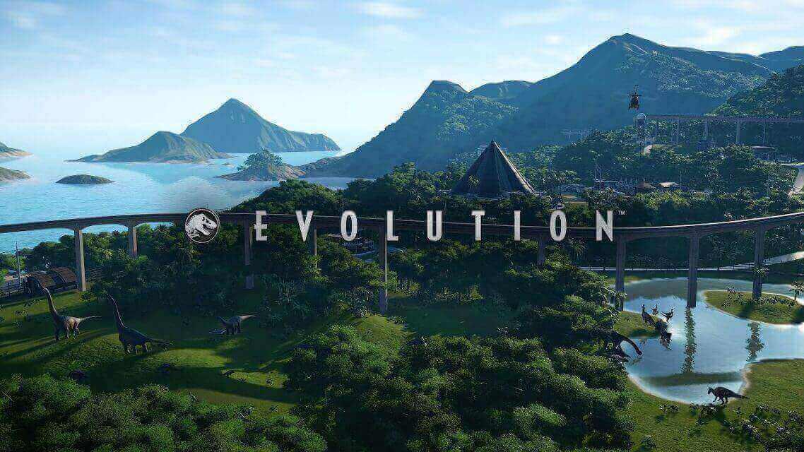 Jurassic World Evolution download cover