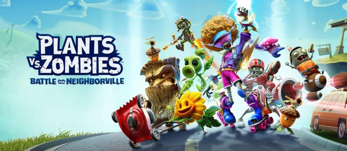 Plants vs Zombies Battle for Neighborville download cover