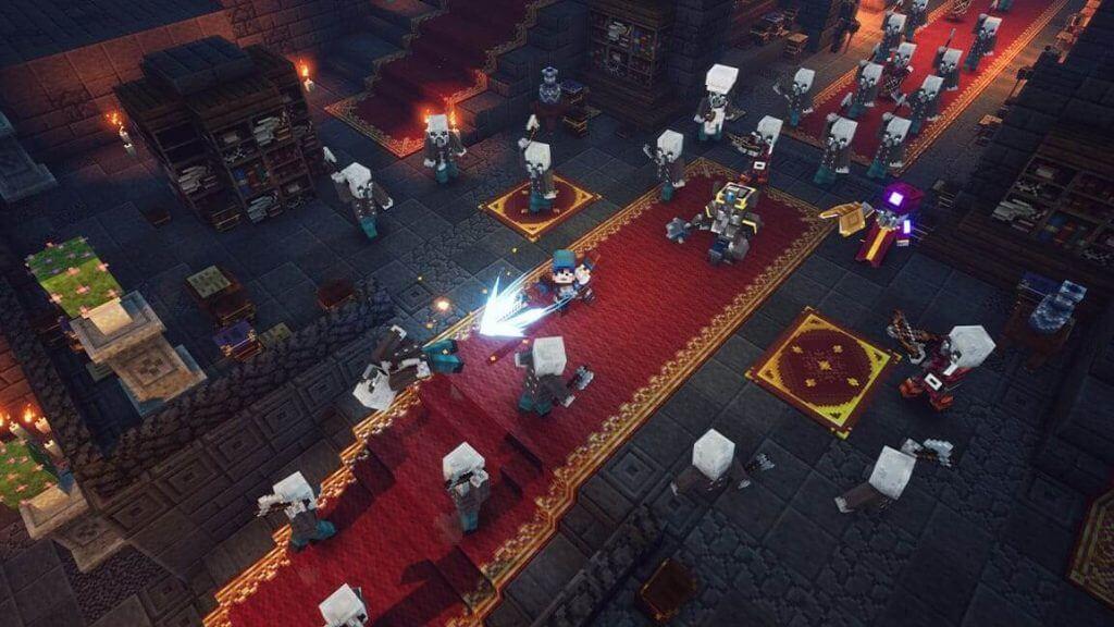 Minecraft Dungeons download wallpaper