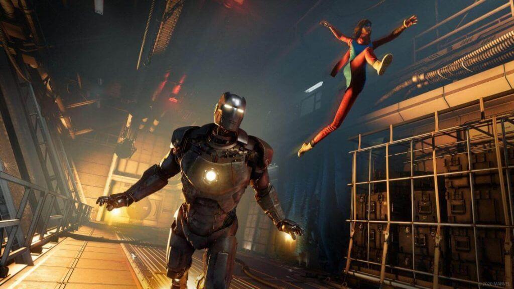 Marvel's Avengers crack