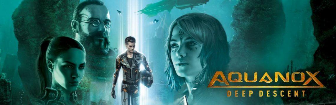 Aquanox Deep Descent download cover
